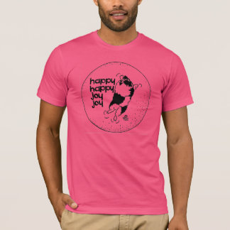 Keeshond Happy Happy Joy Joy T-Shirt