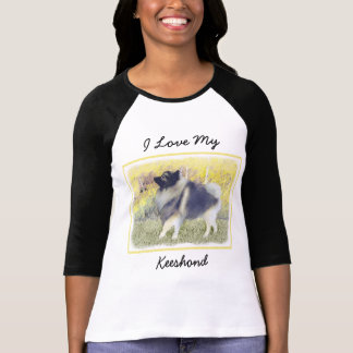 Keeshond in Aspen T-Shirt