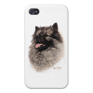 Keeshond iPhone 4 Covers