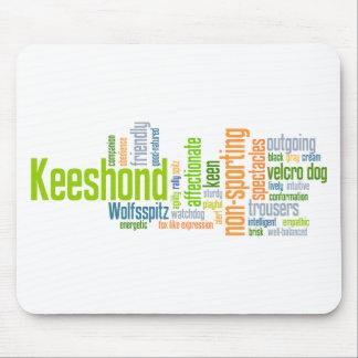 Keeshond Mouse Pad