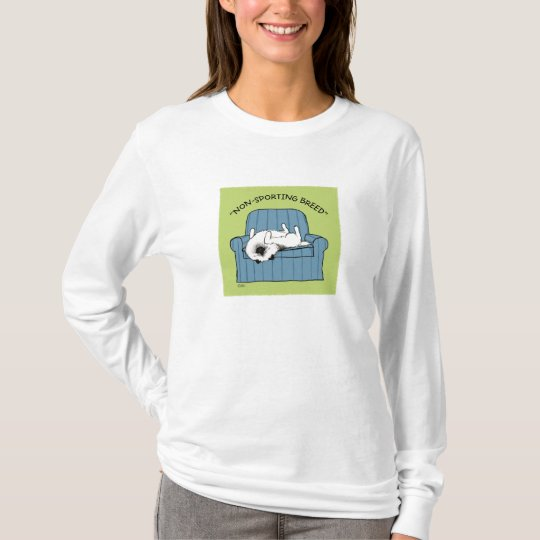 """Keeshond """"Non-Sporting Breed"""" T-Shirt"""