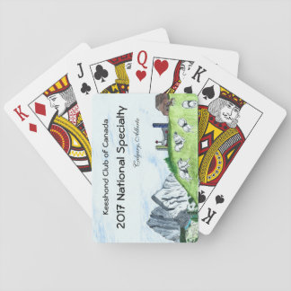 Keeshond Playing Cards