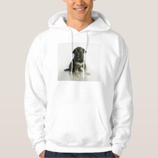 Keeshond Siberian Husky Crossbreed Puppy Hoodie