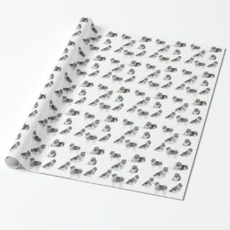 Keeshond Wrapping Paper
