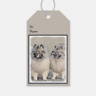 Keeshonds Gift Tags