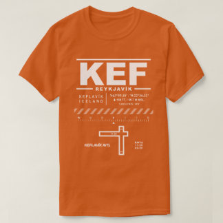 Keflavík International Airport KEF T-Shirt