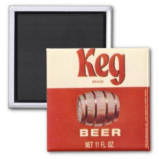 Keg Brand Beer Magnet