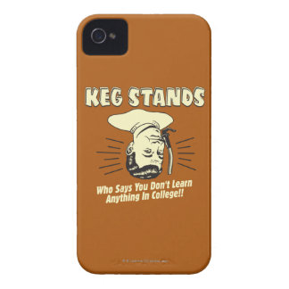 Keg Stands: Don't Learn College iPhone 4 Cover