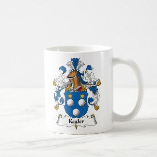 Kegler Family Crest Basic White Mug