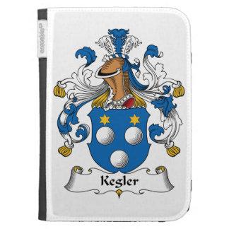 Kegler Family Crest Kindle 3G Cover