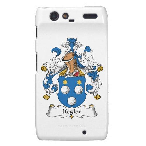 Kegler Family Crest Droid RAZR Cases