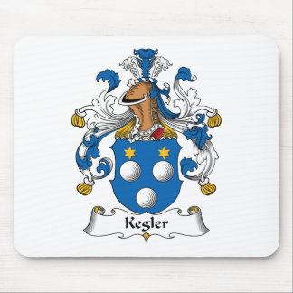 Kegler Family Crest Mouse Mats