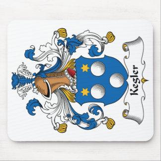 Kegler Family Crest Mousepad