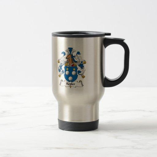Kegler Family Crest Coffee Mugs