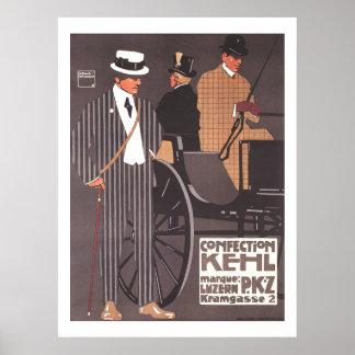 Kehl PKZ Poster Ludwig Hohlwein