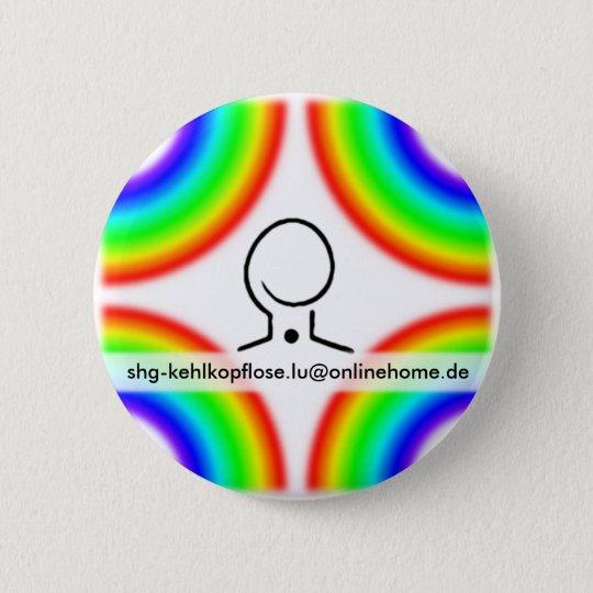 Kehlkopflose Ludwigshafen/Schifferstadt (GER) 6 Cm Round Badge