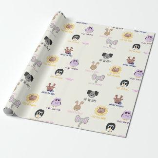 Keiki Aloha Ani-friend-imal Wrapping Paper
