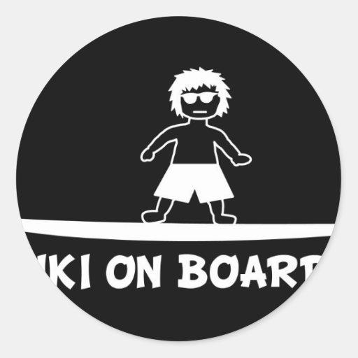 Keiki On Board.JPG Round Sticker