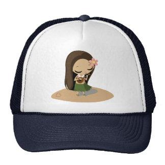 Keilana the Hula Girl Mesh Hat