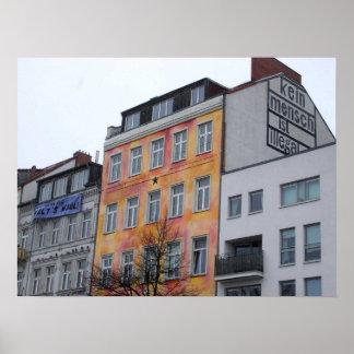 Kein Mensch ist illegal Hamburg Posterdruck