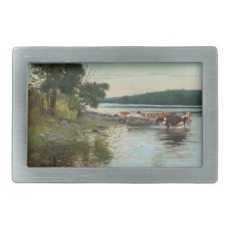 Keinänen's Lake View belt buckle