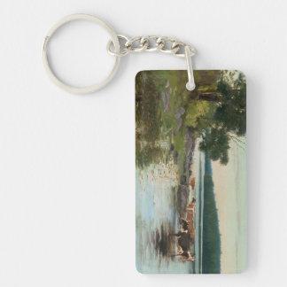 Keinänen's Lake View key chain