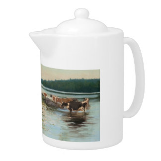 Keinänen's Lake View teapot