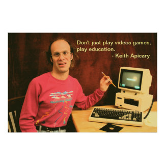 Keith Apicary education poster
