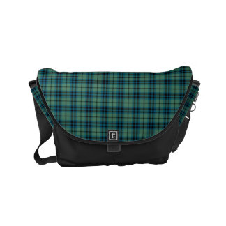Keith Clan Green and Blue Ancient Scottish Tartan Commuter Bags