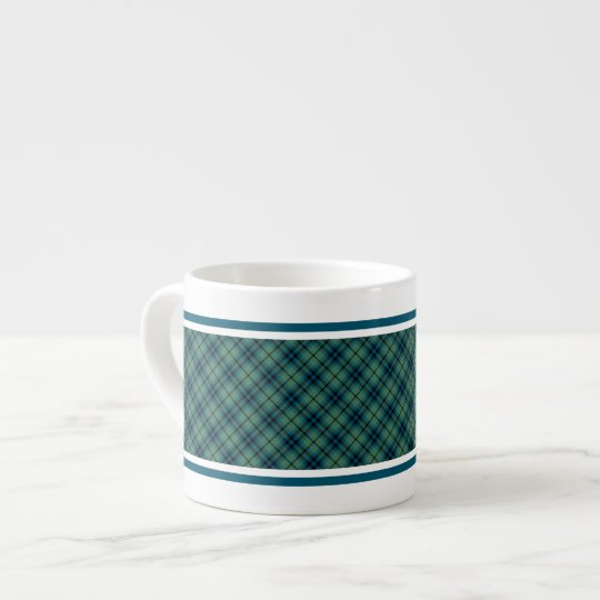 Keith Clan Light Blue and Green Ancient Tartan