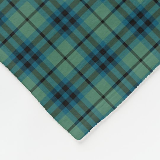 Keith Clan Light Green and Blue Ancient Tartan