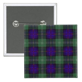 Keith clan Plaid Scottish tartan 15 Cm Square Badge