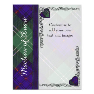 Keith clan Plaid Scottish tartan Personalized Flyer