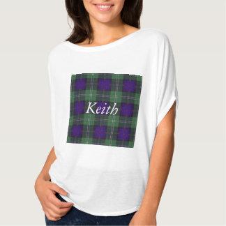 Keith clan Plaid Scottish tartan T-Shirt