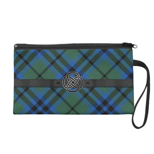 Keith Tartan Plaid Wristlet