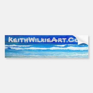 Keith Wilkie Art Bumber Sticker