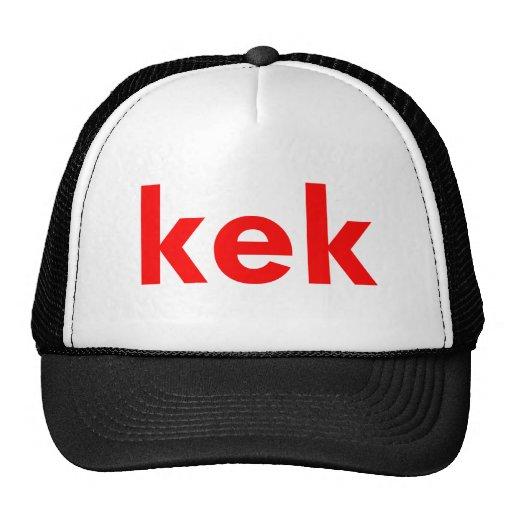 kek mesh hats