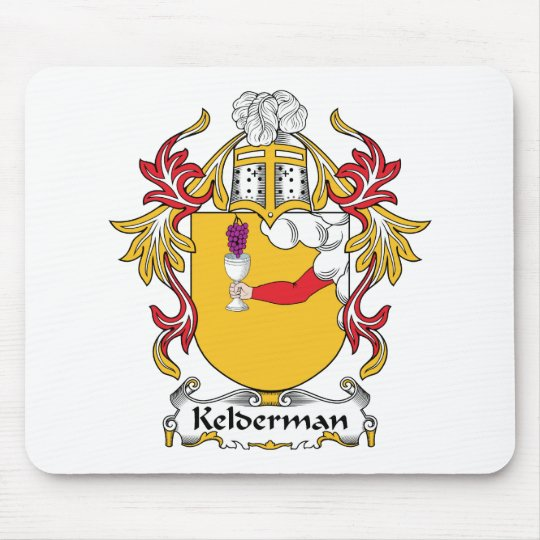 Kelderman Family Crest Mouse Mat