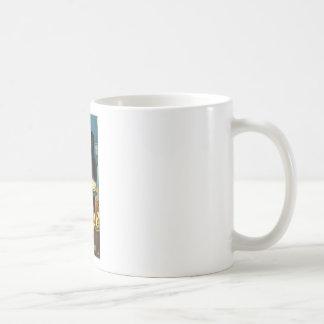 Kellar Levitation - Theatrical Magic Basic White Mug