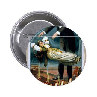 Kellar, 'Levitation' Vintage Theater Button