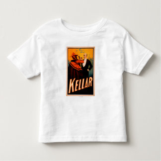 Kellar Magician Drinking Wine with the Devil Toddler T-Shirt