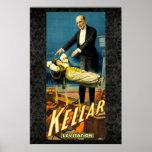 Kellar the Magician Reissue Vintage 36 x 24 Poster