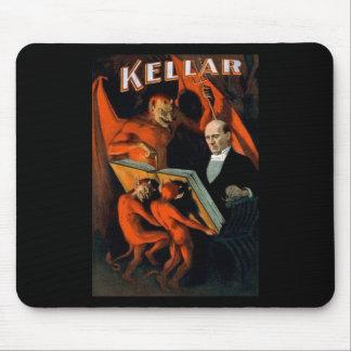 Kellar The Magician Vintage Magic Mouse Mat