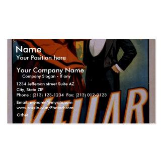 Kellar Vintage Theater Business Cards