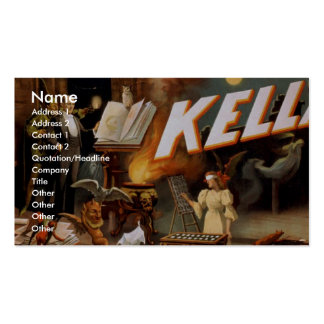 Kellar Vintage Theater Business Card Templates