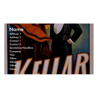 Kellar Vintage Theater Pack Of Standard Business Cards