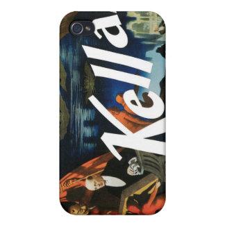Kellar's ~ The Devil Vintage Magic Act iPhone 4 Cases