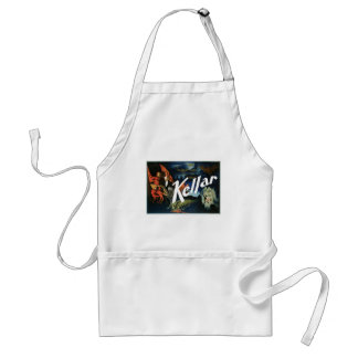 Kellar's ~ The Devil Vintage Magic Act Standard Apron