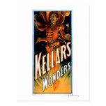 Kellar's Wonders Dressed like Devil Magic Postcard