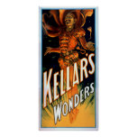 Kellar's Wonders Dressed like Devil Magic Poster